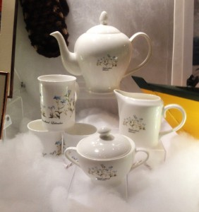 Forget Me Not Tea Set by Margaret